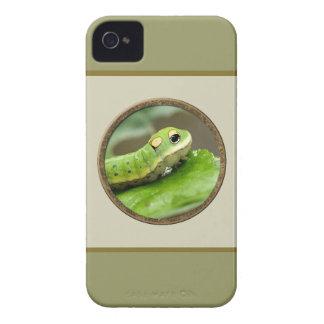 幸せで小さいみみず Case-Mate iPhone 4 ケース