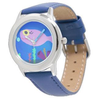 幸せで小さい魚 腕時計