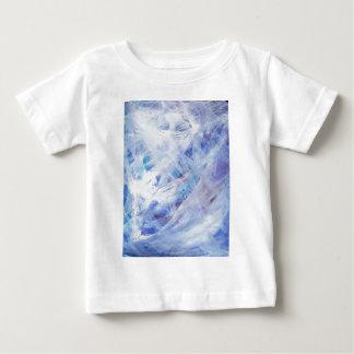 幸せで抽象的なアクリル ベビーTシャツ