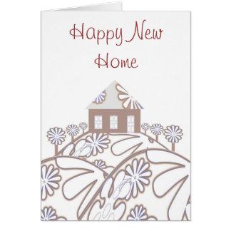 幸せで新しい家 グリーティングカード