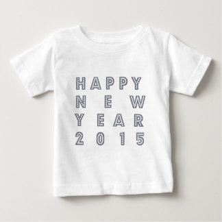 幸せで新しいyear´sイブ2015年 ベビーTシャツ