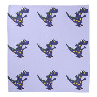 幸せで青い恐竜 バンダナ