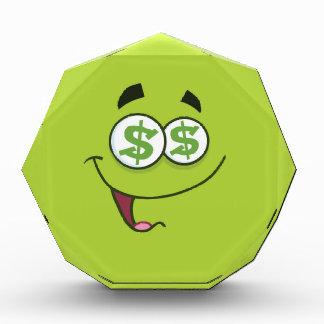 幸せなお金Emoji 表彰盾