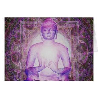 幸せなめい想の仏 カード