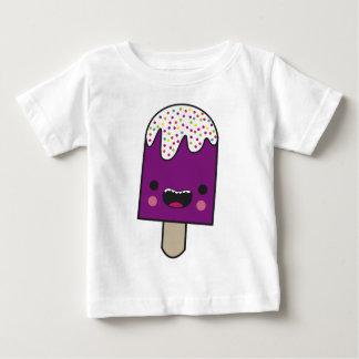 幸せなアイスキャンデー ベビーTシャツ