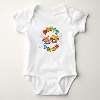 幸せなウイルス- Babieの衣服 ベビーボディスーツ