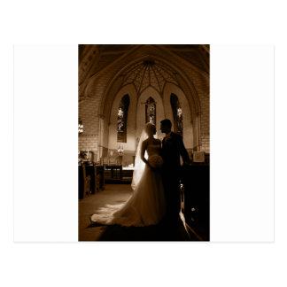 -幸せなカップルへの…結婚 ポストカード