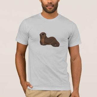 幸せなカワウソのワイシャツ Tシャツ