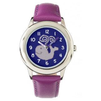 幸せなクジラ 腕時計