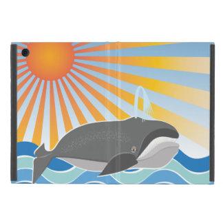 幸せなクジラ iPad MINI ケース
