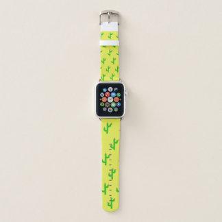 幸せなサボテンのAppleの時計バンド Apple Watchバンド