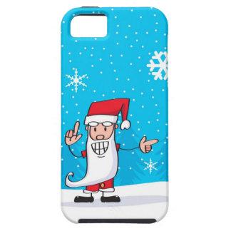 幸せなサンタクロース iPhone SE/5/5s ケース