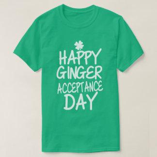 幸せなショウガ日 Tシャツ