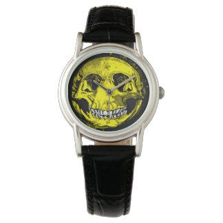 幸せなスカル 腕時計