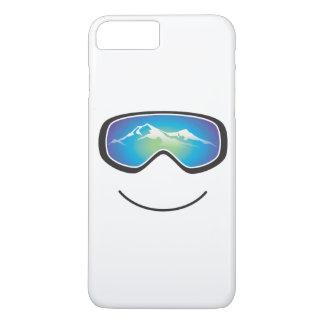 幸せなスキーヤーか寄宿生 iPhone 8 PLUS/7 PLUSケース
