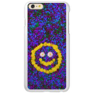 幸せなスマイリーフェイスのタンポポの花 INCIPIO FEATHER SHINE iPhone 6 PLUSケース
