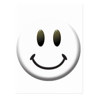 幸せなスマイリーフェイス ポストカード