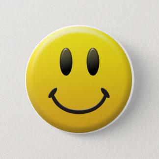 幸せなスマイリーフェイス 5.7CM 丸型バッジ
