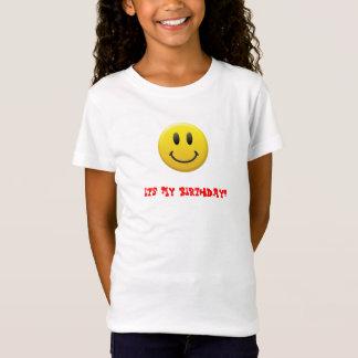 幸せなスマイリーフェイス Tシャツ