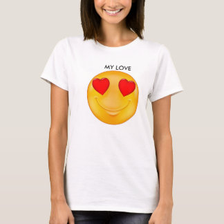 幸せなスマイル Tシャツ
