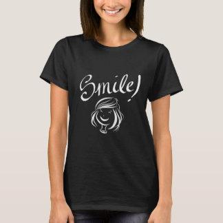 幸せなスマイル! Tシャツ