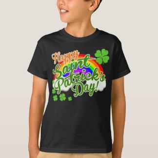幸せなセントパトリックのクラシックな日 Tシャツ