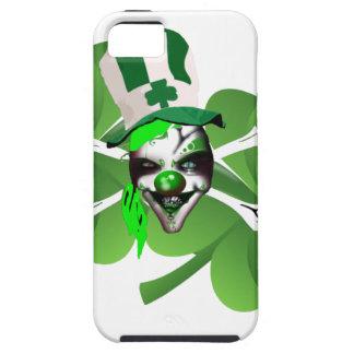 幸せなセントパトリックの恐いピエロ iPhone SE/5/5s ケース