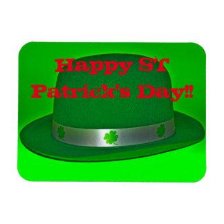幸せなセントパトリックの日の正方形の磁石!! マグネット