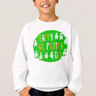 幸せなセントパトリックの日 スウェットシャツ