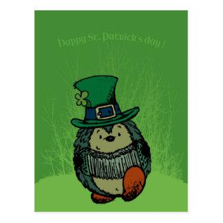 幸せなセントパトリックの日! ポストカード