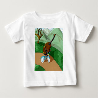 幸せなチェロ ベビーTシャツ