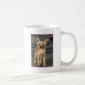 幸せなチワワ コーヒーマグカップ