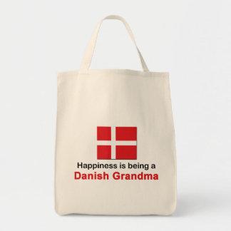 幸せなデンマークの祖母 トートバッグ