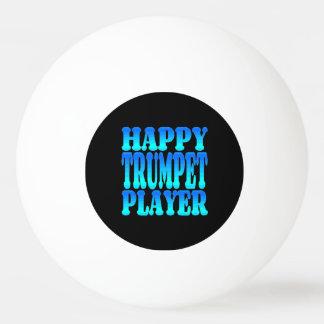 幸せなトランペット奏者 卓球ボール