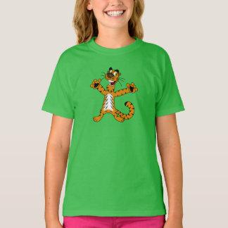 幸せなトラ-子供のTシャツ Tシャツ