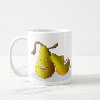 幸せなナシ コーヒーマグカップ