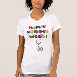幸せなナース週 Tシャツ