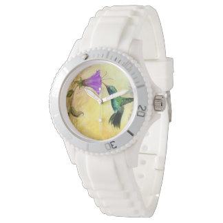 幸せなハチドリの腕時計 腕時計