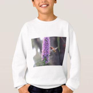 幸せなハチドリ スウェットシャツ