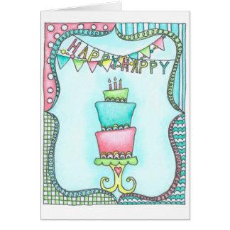 幸せなハッピーバースデー! カード