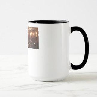 幸せなハヌカー マグカップ