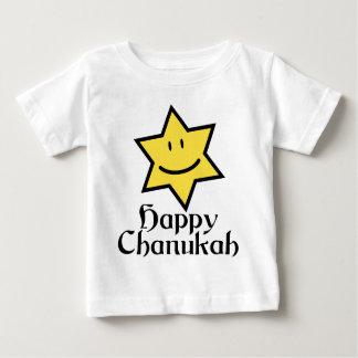 幸せなハヌカー(ユダヤ教の祭り) ベビーTシャツ