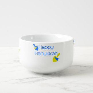 幸せなハヌカーDreidels スープマグ