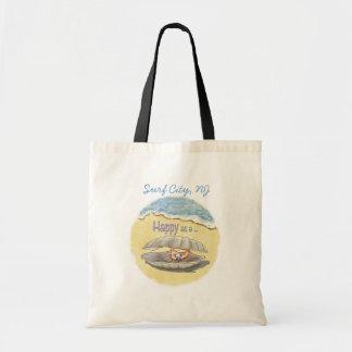 幸せなハマグリのバッグ トートバッグ