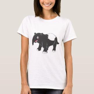 幸せなバクの漫画 Tシャツ
