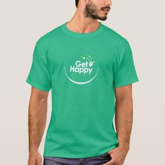 幸せなバッタのTシャツ Tシャツ