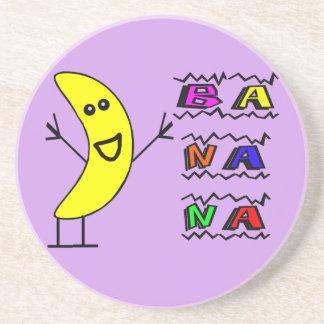幸せなバナナ コースター