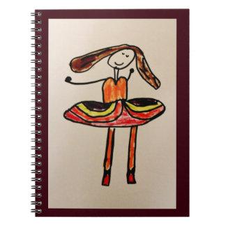 幸せなバレリーナ ノートブック