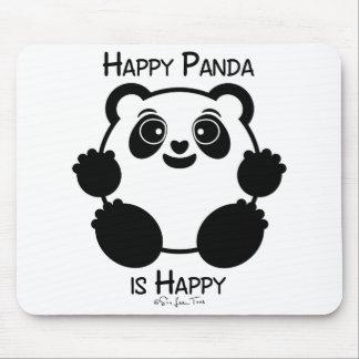 幸せなパンダ マウスパッド