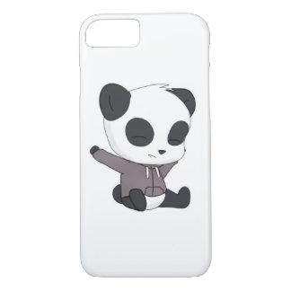 幸せなパンダ iPhone 8/7ケース